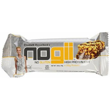 NoGii High Protein Chocolate Peanut Butter Bar, 6 Count