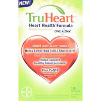 TruHeart 100 Softgels Heart Health Formula Dietary Supplement Contains Phytosterols, Plant Sterols CoQ10 Vitamin D3 Co-Enzyme Q10