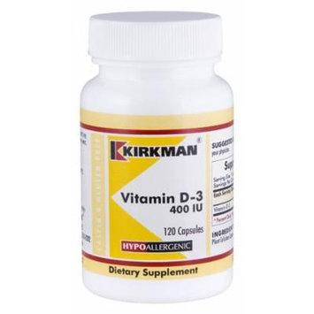 Vitamin D-3 400 IU Capsules - Hypo, 120 Capsules