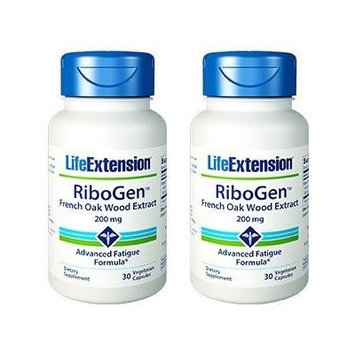 Life Extension RibogenTM French Oak Wood Extract (2 Pack)