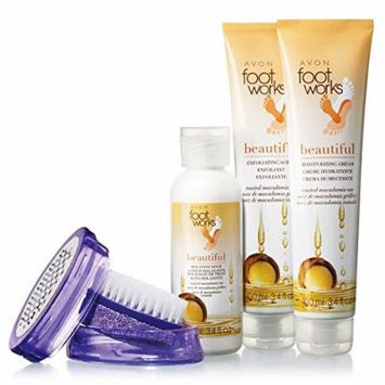 AVON ~ Foot Works 4pc Toasted Macadamia Nut Gift Set