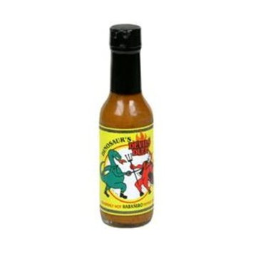 Dinosaur Sauce Hot Devils Duel Habnro 5 OZ (Pack Of 12)