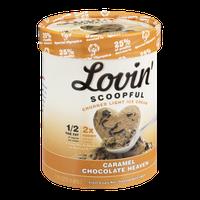 Lovin' Scoopful Carmel Chocolate Heaven Churned Light Ice Cream