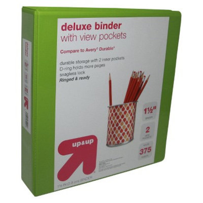 up & up -  Durable Ring Binder Clear View