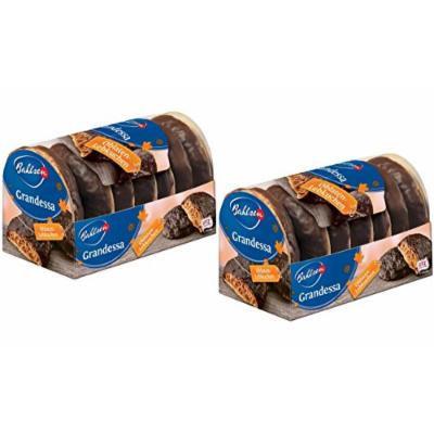 Bahlsen Grandessa Lebkuchen, Dark Chocolate Covered (Pack of 2)