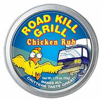 Dean Jacob's Road Kill Chicken Rub ~ 1.75 oz. Tinvvvv