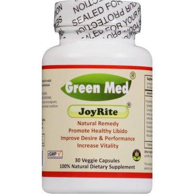 Green Med JoyRite- 30 veggie cap/bot, 100% natural aphrodisiac remedy, help to enhance healthy libido, increase vitality. Maca-Peruian genseng, Unisex