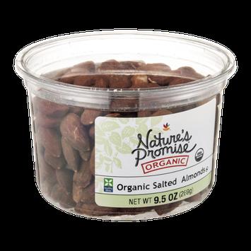 Nature's Promise Organic Salted Almonds Organic