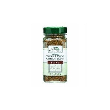Spice Hunter Steak & Chop Grill & Broil Salt Free Blend, 2.2-ounce Jars (Pack of 6)