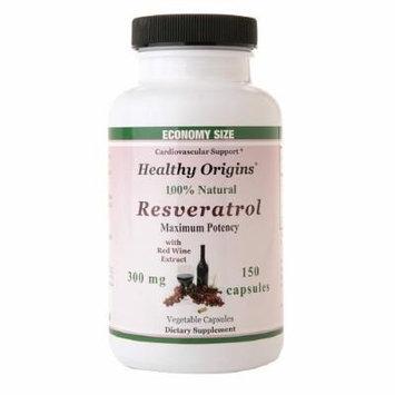 Healthy Origins Resveratrol 300 mg, Capsules 150 ea