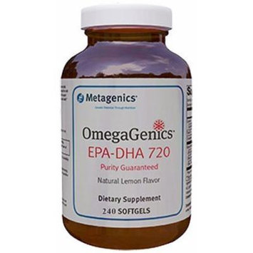 Metagenics - OmegagenicsTM Epa-dha 720 Lemon 240 Gels (240 s Gels)