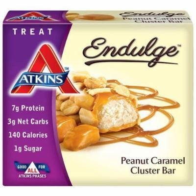 Atkins Endulge Pieces, Peanut Caramel Cluster Bar, 5 Ounce