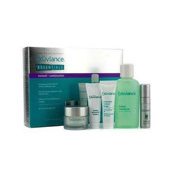 Exuviance Essentials Kit (normal/ Combination): Cleansing Gel + Eye Complex + Masque + Evening Complex + Perfect 10 Seru