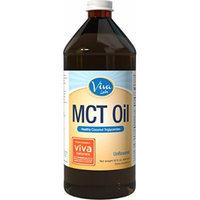 Viva Labs Non-GMO Pure Coconut MCT Oil (32 fl oz) - Gluten Free, Vegan and Paleo Diet Approved, Naturally Extracted and Sustainably Sourced