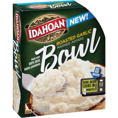 Idahoan Foods Idahoan Roasted Garlic Mashed Potato Bowl, 4 oz