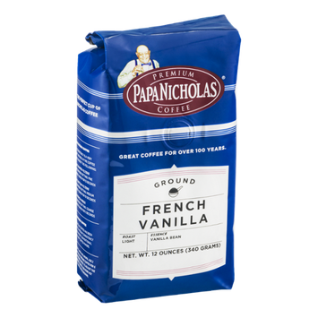 Papa Nicholas Coffee Ground French Vanilla