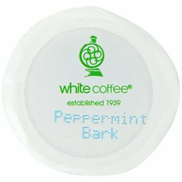 White Coffee Peppermint Bark Single Serve Coffee, 10 Count (Pack of 4)