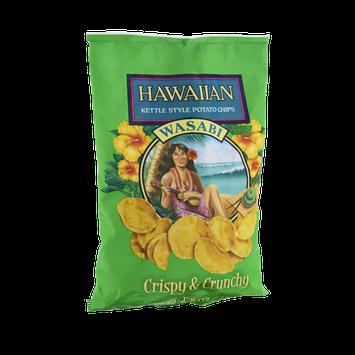 Hawaiian Wasabi Crispy & Crunchy Kettle Style Potato Chips