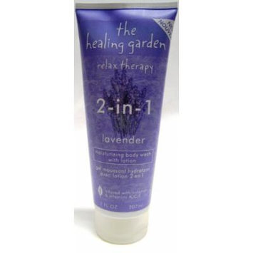 The Healing Garden Relax Therapy - Lavender 2-in-1 Body Wash with Moisturizing Lotion