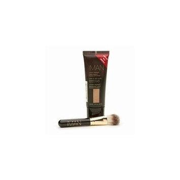 IMAN Luxury Radiance Second to None Liquid Makeup & Brush Set CLAY 3