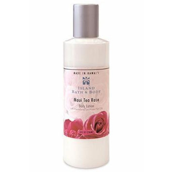 Island Bath & Body Maui Tea Rose Body Lotion 8oz.
