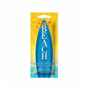 3 Packets of Sexy Beach Tanning Lotion Bronzer
