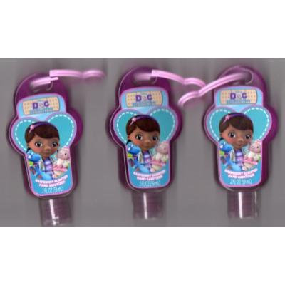 Doc McStuffins Raspberry Scented Hand Sanitizer Antibacterial (Lot of 3 Bottles)