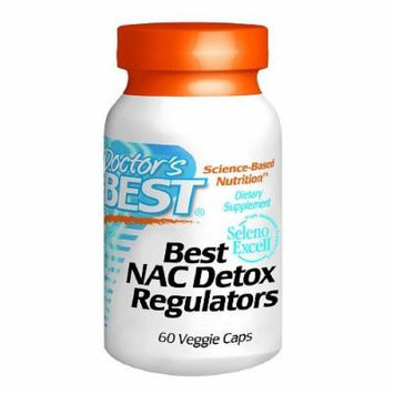 Doctor's Best Best NAC Detox Regulators, Veggie Caps 60 ea