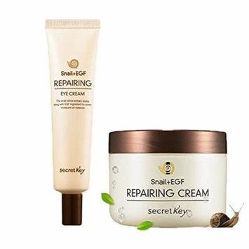 Secret Key Snail +EGF Repairing Cream& Eye Cream 2pc set