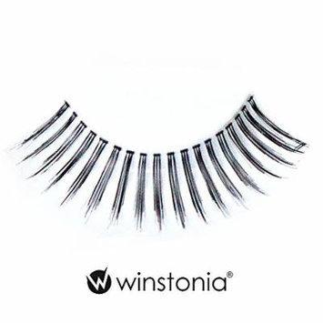 Winstonia 5 Pairs False Eyelashes Fake Lashes Fashion Makeup Cosmetic - Natural Invisible Band 05
