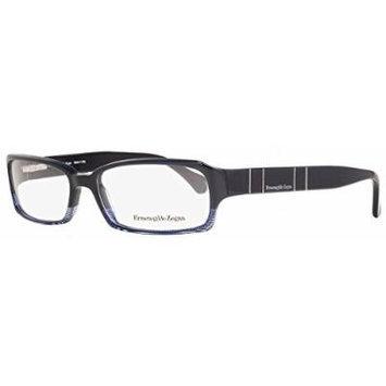 Ermenegildo Zegna Eyeglasses VZ3504V 09M9 Size:53 Shiny Navy Blue 3504