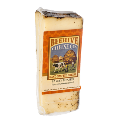 Beehive Cheese Co. Barely Buzzed Espresso/Lavender Rubbed
