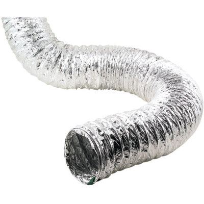 Lambro Aluminum Flex Ducting, 4-Ply, 50' Pure Proflex