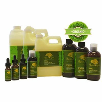 Gallon Emu Oil 100% Pure Organic Moisturizing Oil For Face Skin Hair Growth Stretch Marks And More Fully Refined