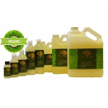 Gallon Coconut Extra Virgin Oil 100% Pure Organic Moisturizing Oil For Face Skin Hair Growth Stretch Marks And More