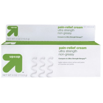 up & up Pain Relief Cream - 4 oz.
