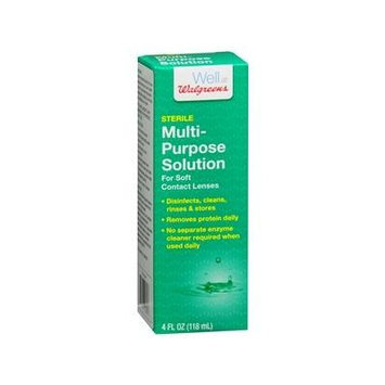 Walgreens Multi-Purpose Contact Lens Solution 4 fl oz