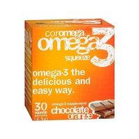 Coromega Omega-3 Supplement, Orange Flavor with a hint of Chocolate 30 ea