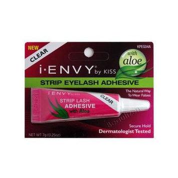 Kiss I. Envy Eye Lash Adhesive (7g Strip (Tube), Clear)