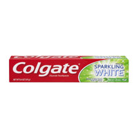 Colgate Sparking White Toothpaste - Mint Zing Gel, 6.4 oz