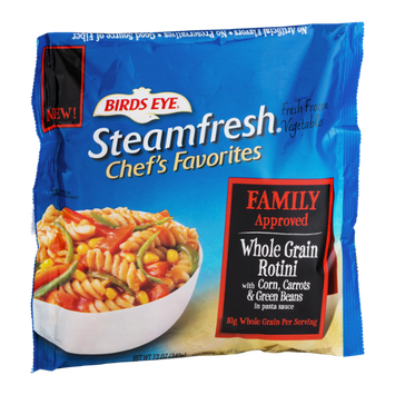 Birds Eye Steamfresh Chef's Favorites  Whole Grain Rotini With Corn, Carrots & Green Beans