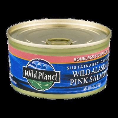 Wild Planet Wild Alaska Pink Salmon Boneless & Skinless