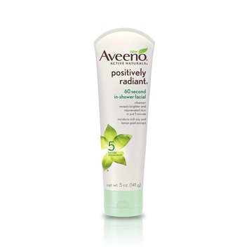 Aveeno® Positively Radiant 60 Second In-Shower Facial Cleanser