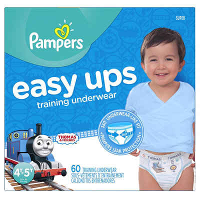 Pampers® Easy Ups™ Training Underwear Boys Size 6 (4T-5T)