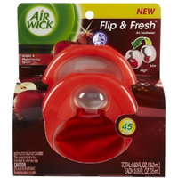 Air Wick Flip & Fresh Air Freshener-Apple & Shimmering Spice-0.25 oz, 2 ct