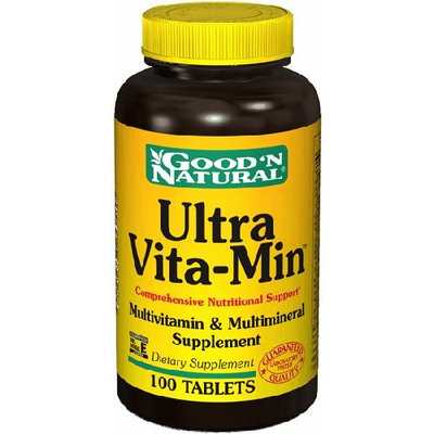 Good 'N Natural Ultra Vita Min - 100 tabs,(Good'n Natural)