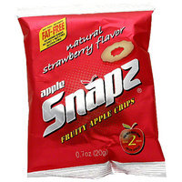 Snapz Apple Fruit Crisps with Strawberry Flavour