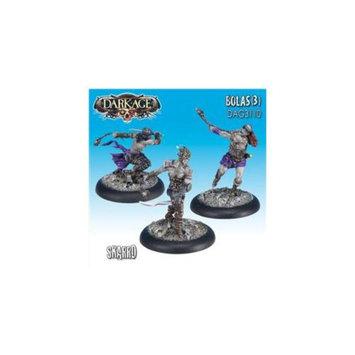 Dark Age Games 3110 Skarrd Bolas - 3, Miniatures And Miniature Games