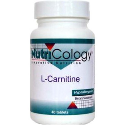 Nutricology L-Carnitine 500 Mg 250 Tabs