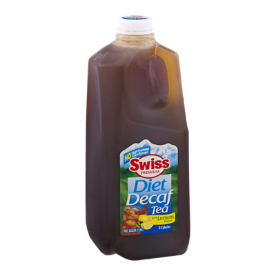 Swiss Premium Diet Decaf Tea with Lemon Flavor